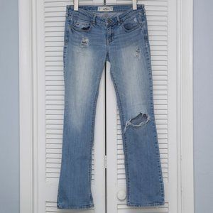 Hollister Boot Stone Wash Jeans Size 7R